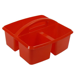 Red Small Utility Caddy - 9-1/4
