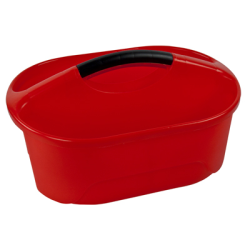 "Red Classroom Caddy - 16-1/4"" L x 12"" W x 8-1/4"" Hgt."