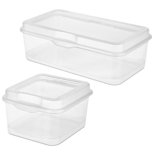 Sterilite® FlipTop Storage Boxes