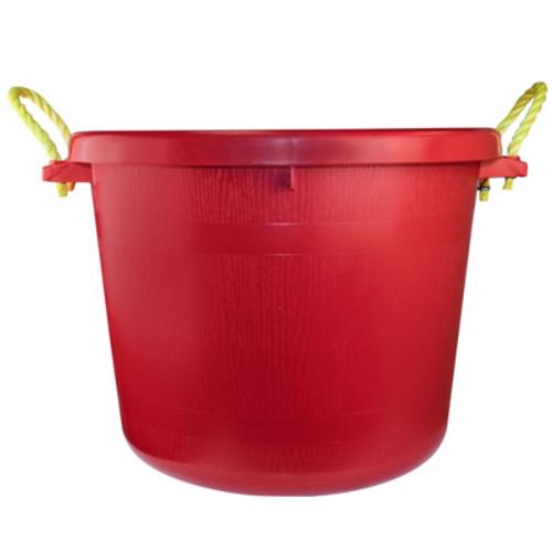 70 Quart Red Multi-Purpose Bucket