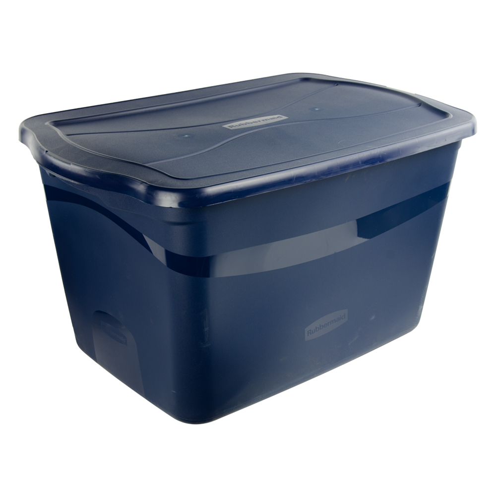 29 Gallon Heritage Blue Clever Store Tote