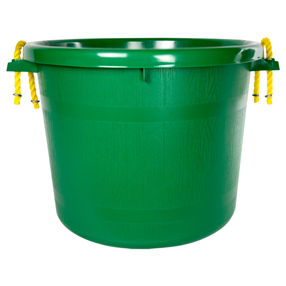 70 Quart Green Multi-Purpose Bucket