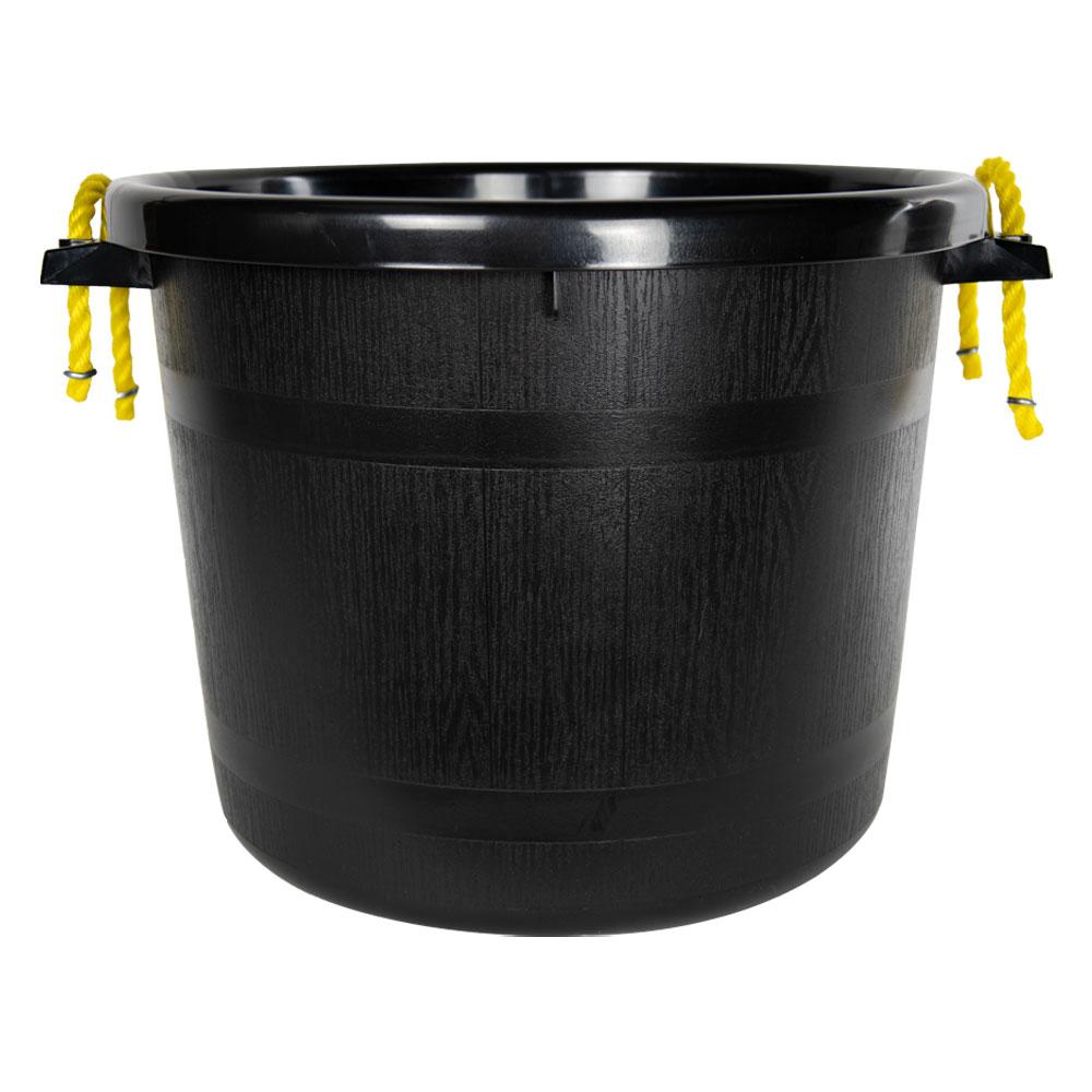 70 Quart Black Multi-Purpose Bucket