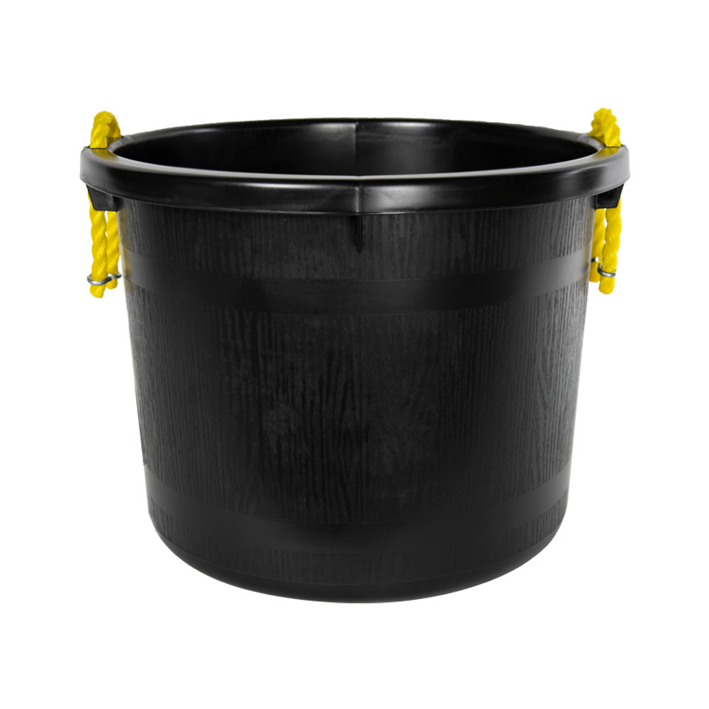 40 Quart Black Multi-Purpose Bucket