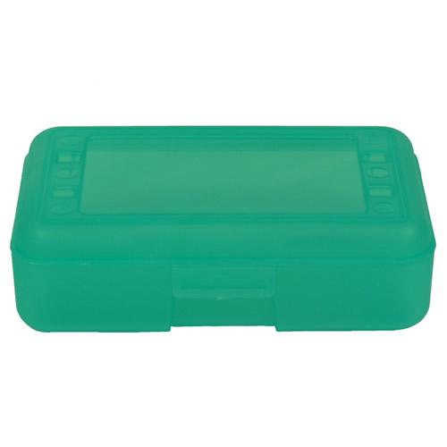 """Lime Pencil Boxes - 8.5"""" L x  5.5"""" W x 2.5"""" Hgt."""