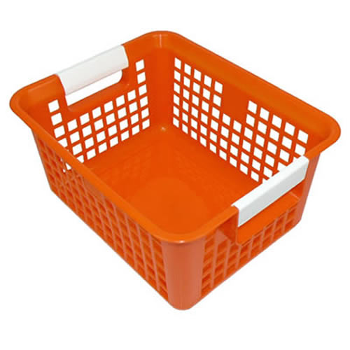 Orange Book Basket