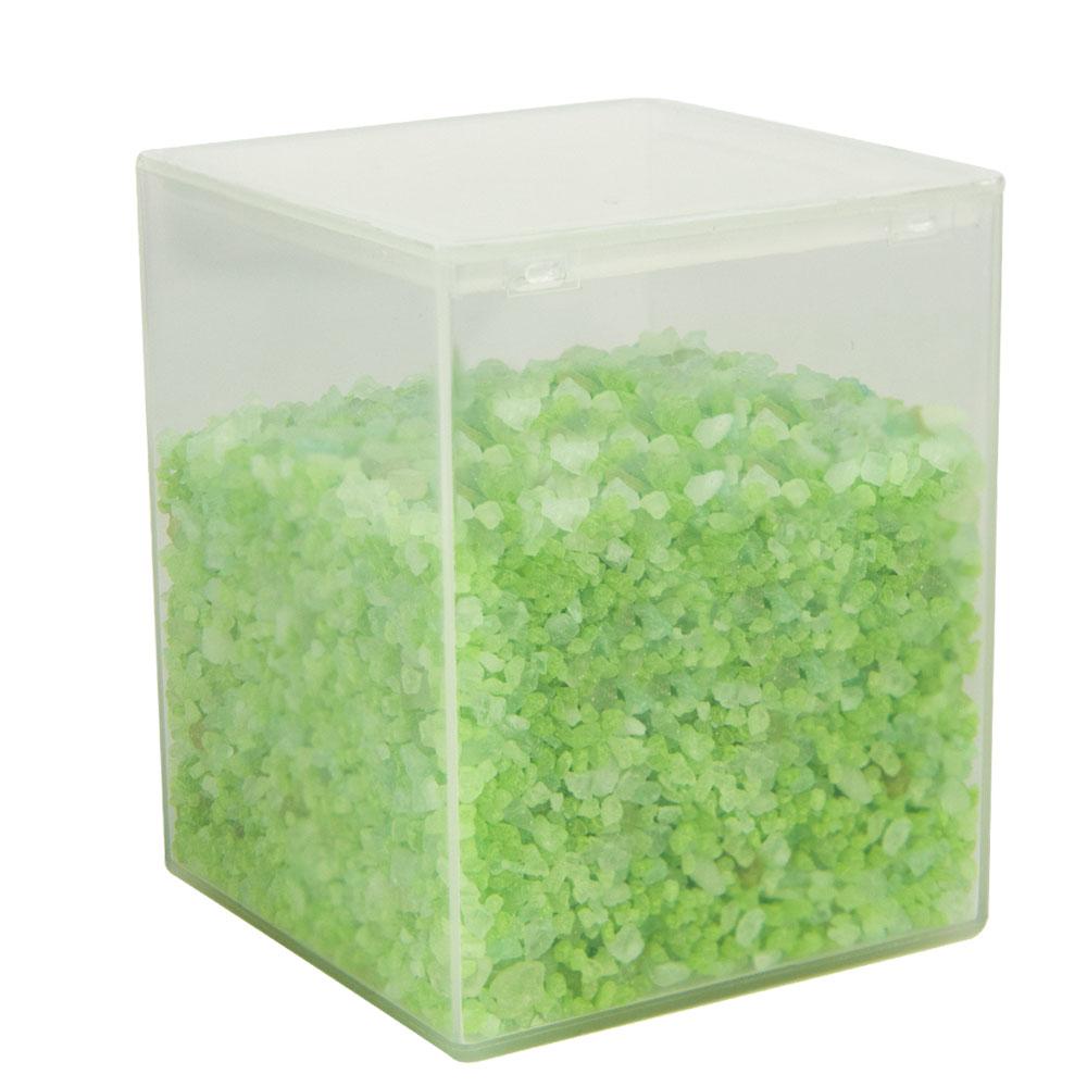 "42 Dram Translucent Flex-A-Top Box - 2.13"" L x 2.13"" W 2.63"" H"