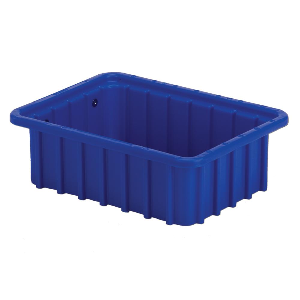 """10-7/8"""" L x 8-1/4"""" W x 3-1/2"""" Hgt. Dark Blue Divider Box"""