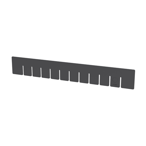 "Akro-Grid Short Dividers for 22-1/2"" L x 17-3/8"" W x 3"" Hgt. Bins"