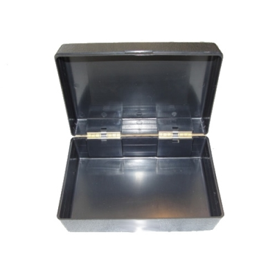 Black ABS Hinged Storage Box