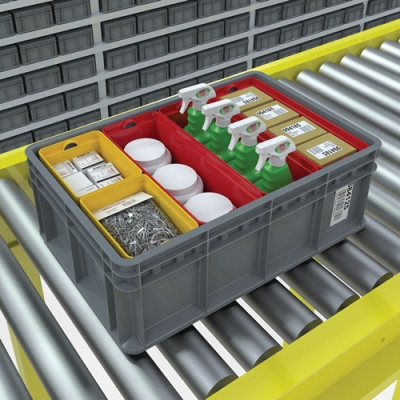 Akro-Mils® Multi-Load Tote, Cups & Dividers