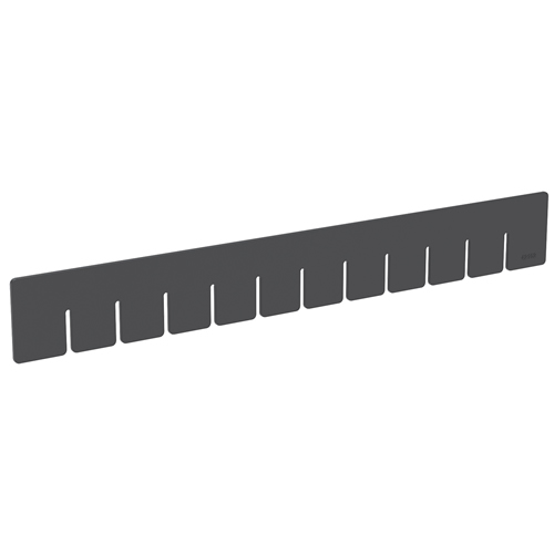 "Akro-Grid Long Dividers for 16-1/2"" L x 10-7/8"" W x 2-1/2"" H Bins"