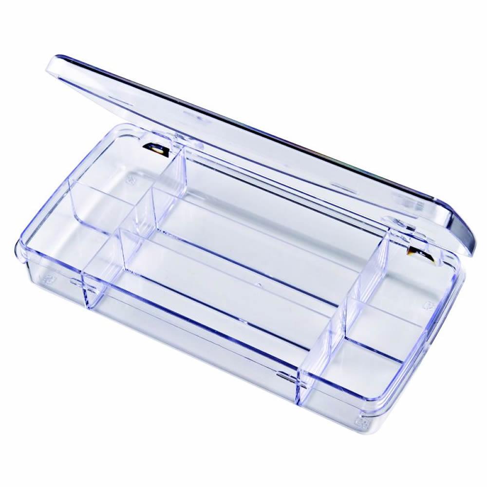 """Diamondback Box with 7 Compartments - 7"""" L x 3-3/8"""" W x 1-1/8"""" H"""