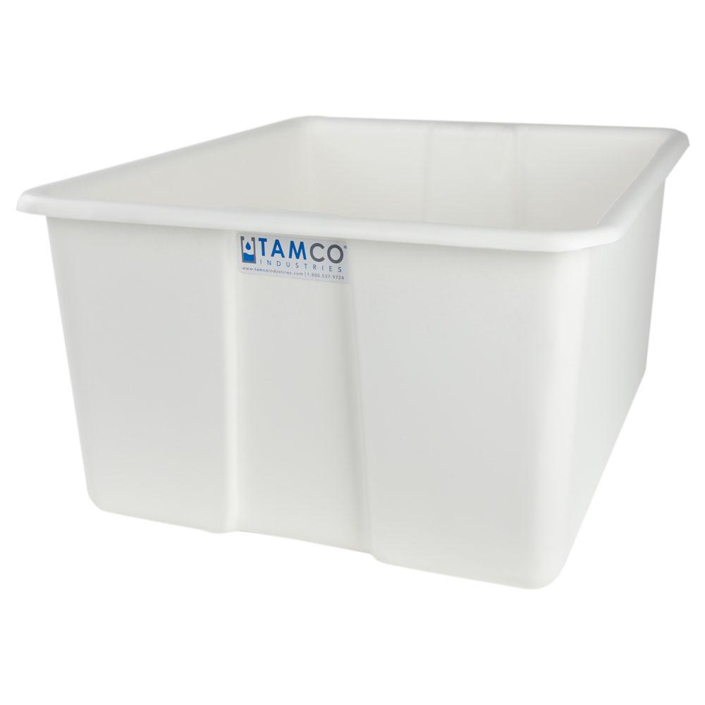 """30"""" L x 20"""" W x 15"""" H White Polyethylene Tamco® Jumbo Tote Pan"""