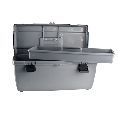 "Utility 20"" Tool Box with Lift Out Tray"