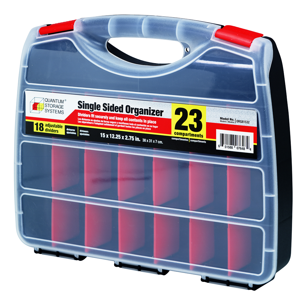 23 Compartments Single-Sided Organizer