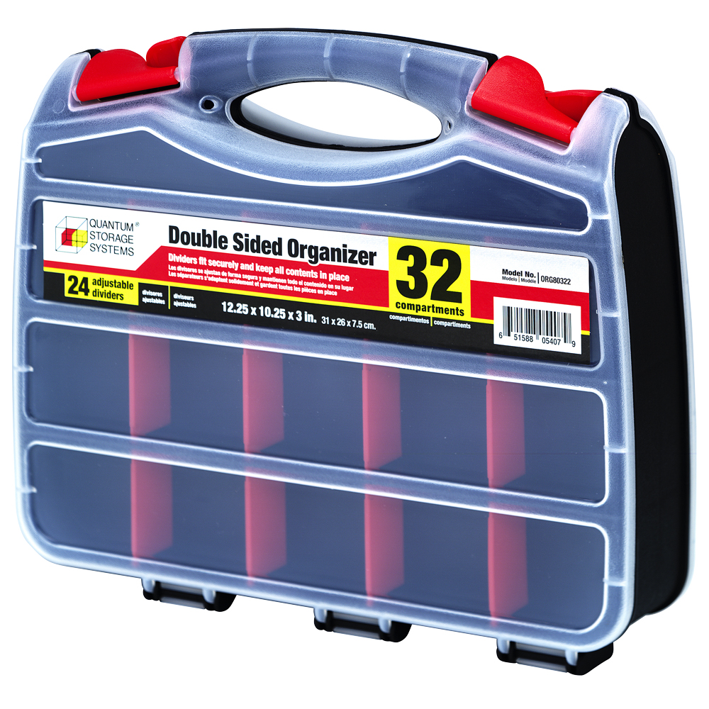 32 Compartments Double-Sided Organizer