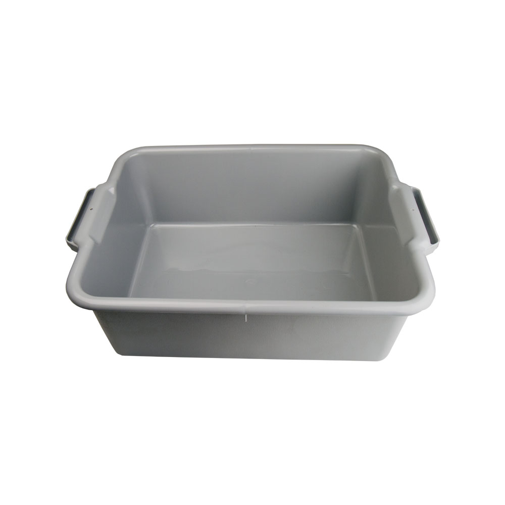 "Gray Holding Pan 20-1/4"" L x 15-1/4"" W x 7"" Hgt."