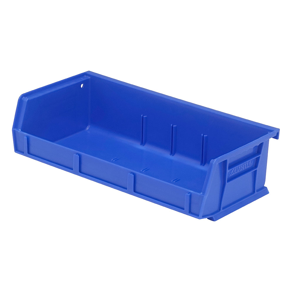 "Blue Quantum® Ultra Series Stack & Hang Bin - 5-3/8"" L x 11"" W x 3"" Hgt."
