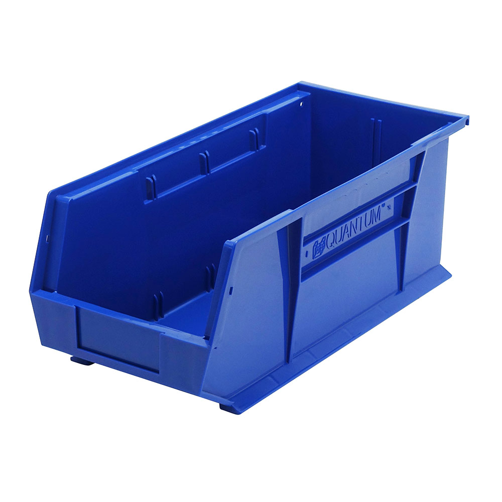"Blue Quantum® Ultra Series Stack & Hang Bin - 18"" L x 8-1/4"" W x 7"" Hgt."