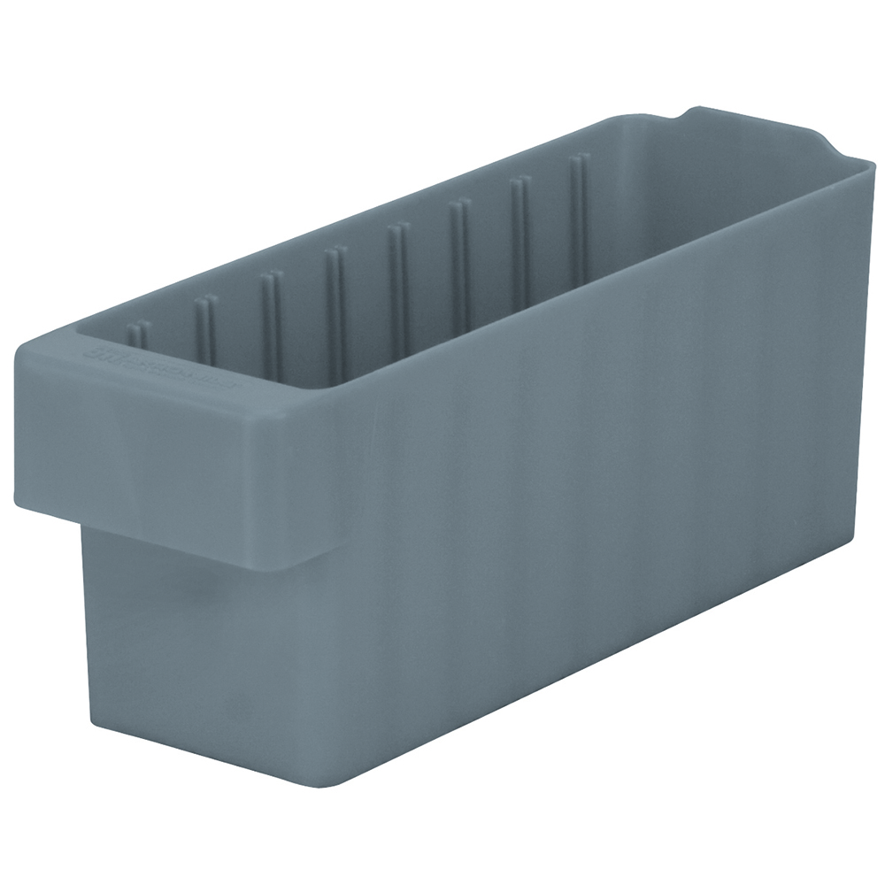 "11-5/8"" L x 3-1/4"" W x 4-5/8"" Hgt. Gray AkroDrawer® Storage Drawer"