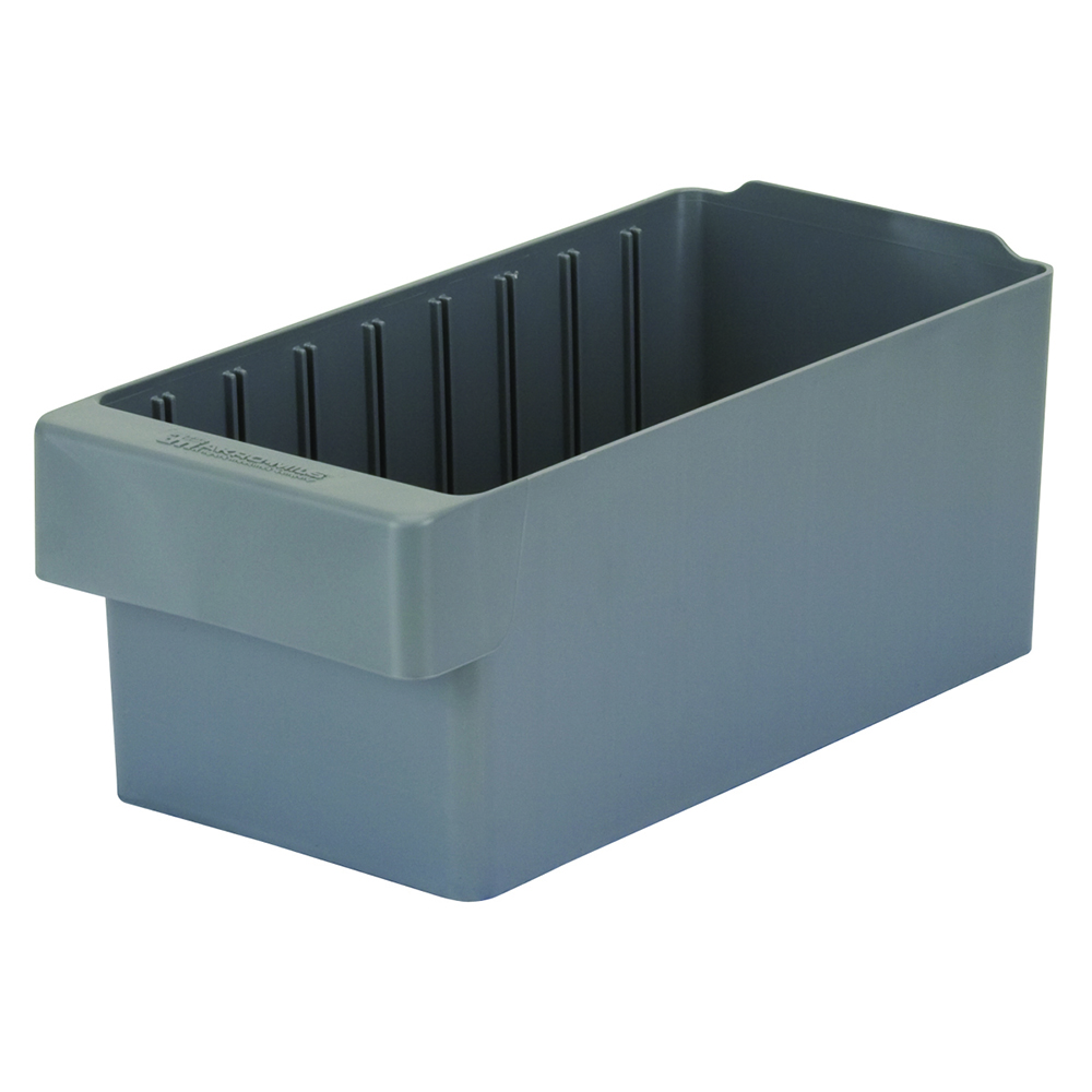 "11-5/8"" L x 5-5/8"" W x 4-5/8"" Hgt. Gray AkroDrawer® Storage Drawers"