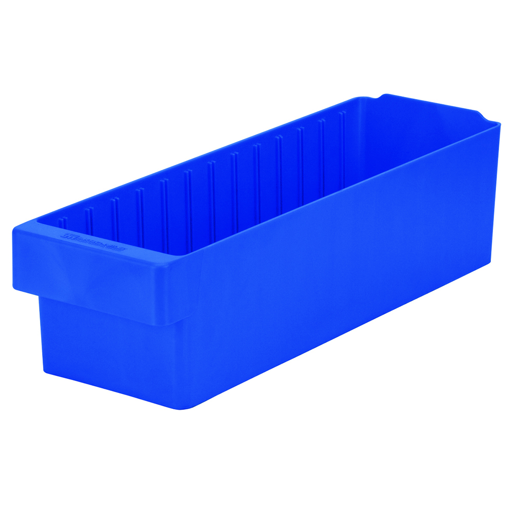 "17-5/8"" L x 5-5/8"" W x 4-5/8"" Hgt. Blue AkroDrawer® Storage Drawers"