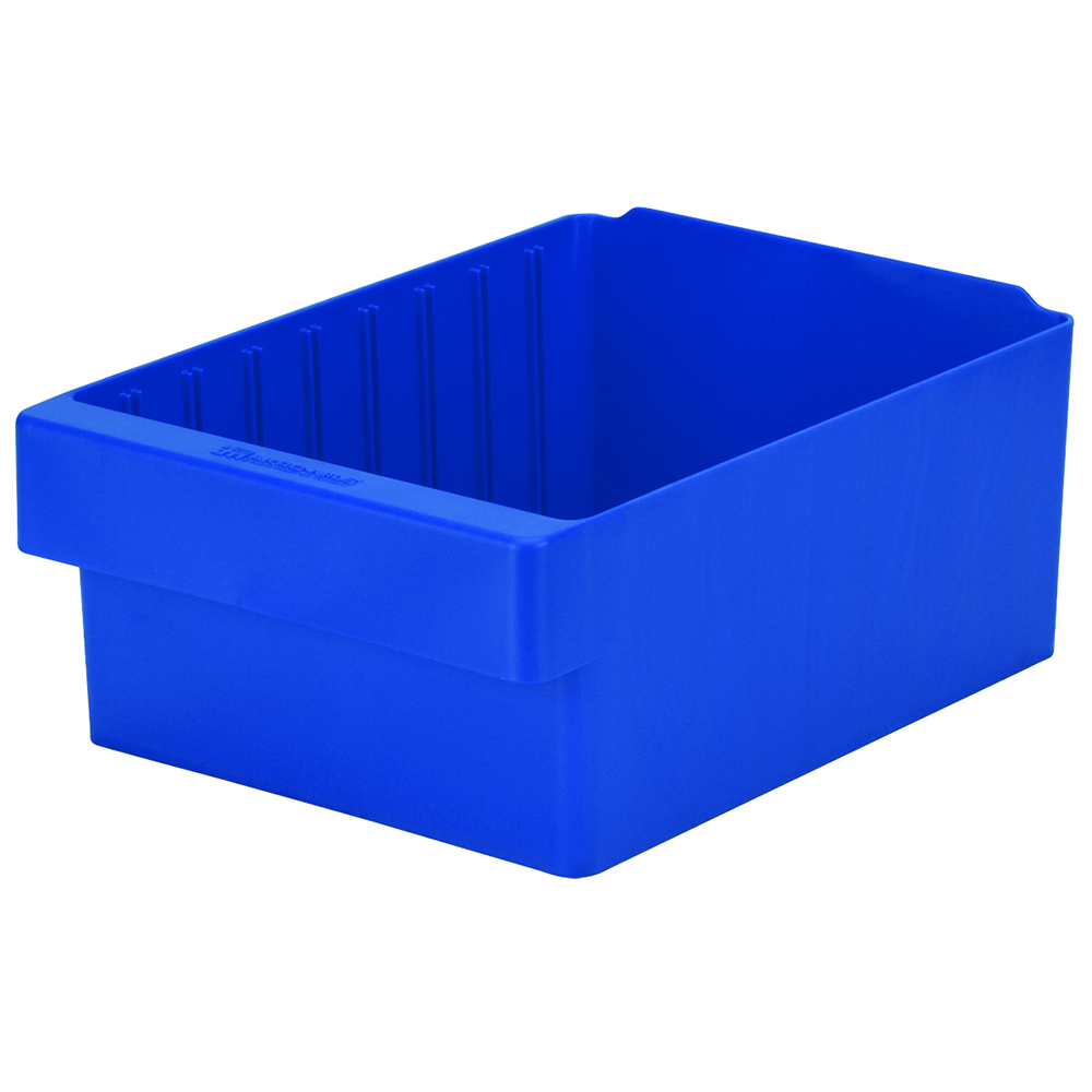 "11-5/8"" L x 8-3/8"" W x 4-5/8"" Hgt. Blue AkroDrawer® Storage Drawers"