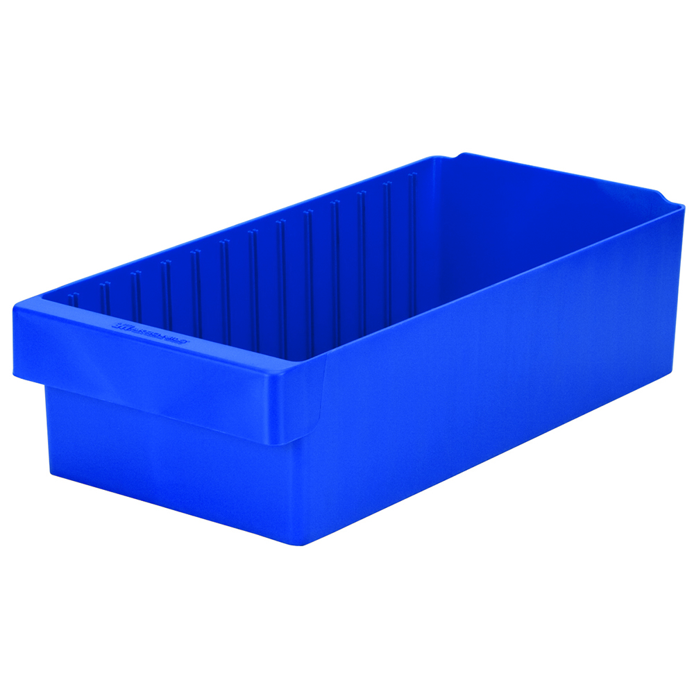 "17-5/8"" L x 8-3/8"" W x 4-5/8"" Hgt. Blue AkroDrawer® Storage Drawers"