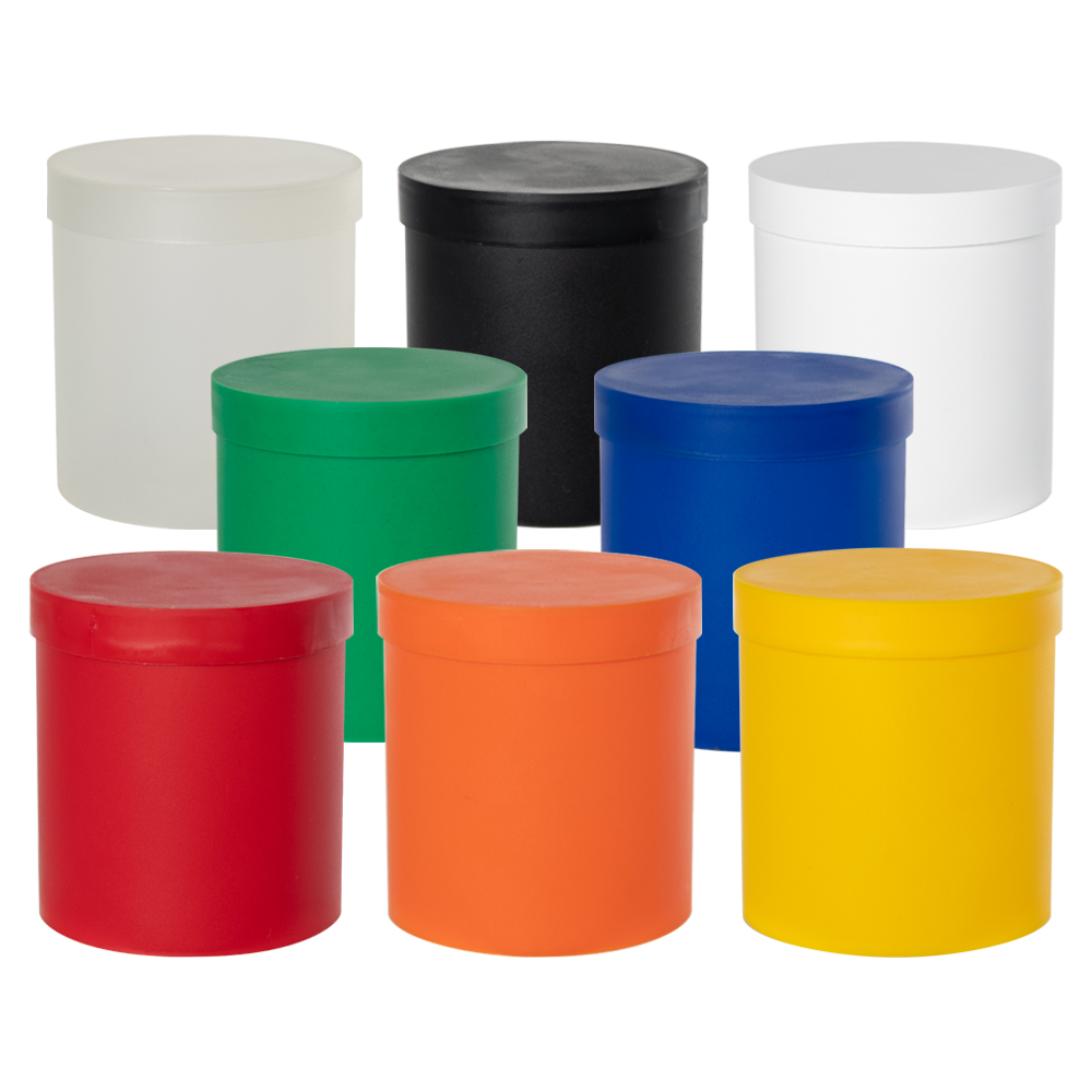 Roundabout Containers with Lids