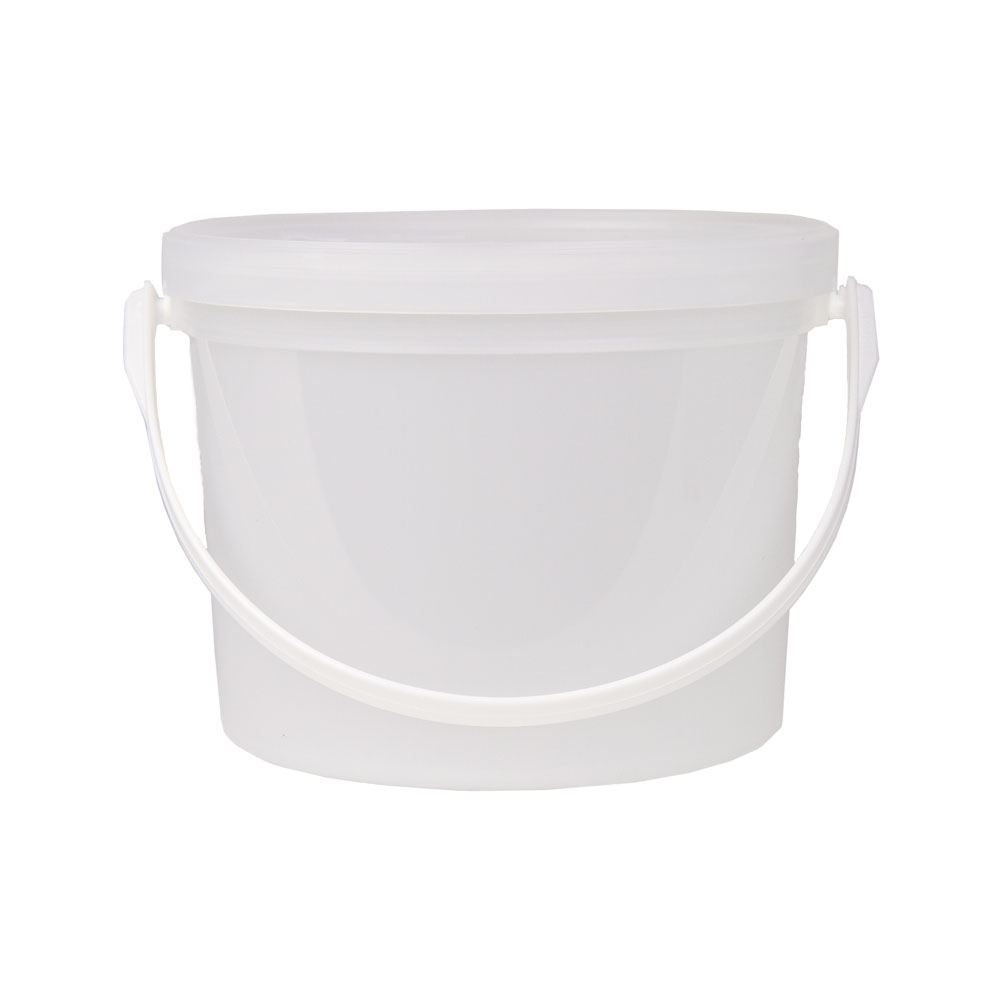 50 oz. Translucent Dairy Pail with Handle (Lid Sold Separately)