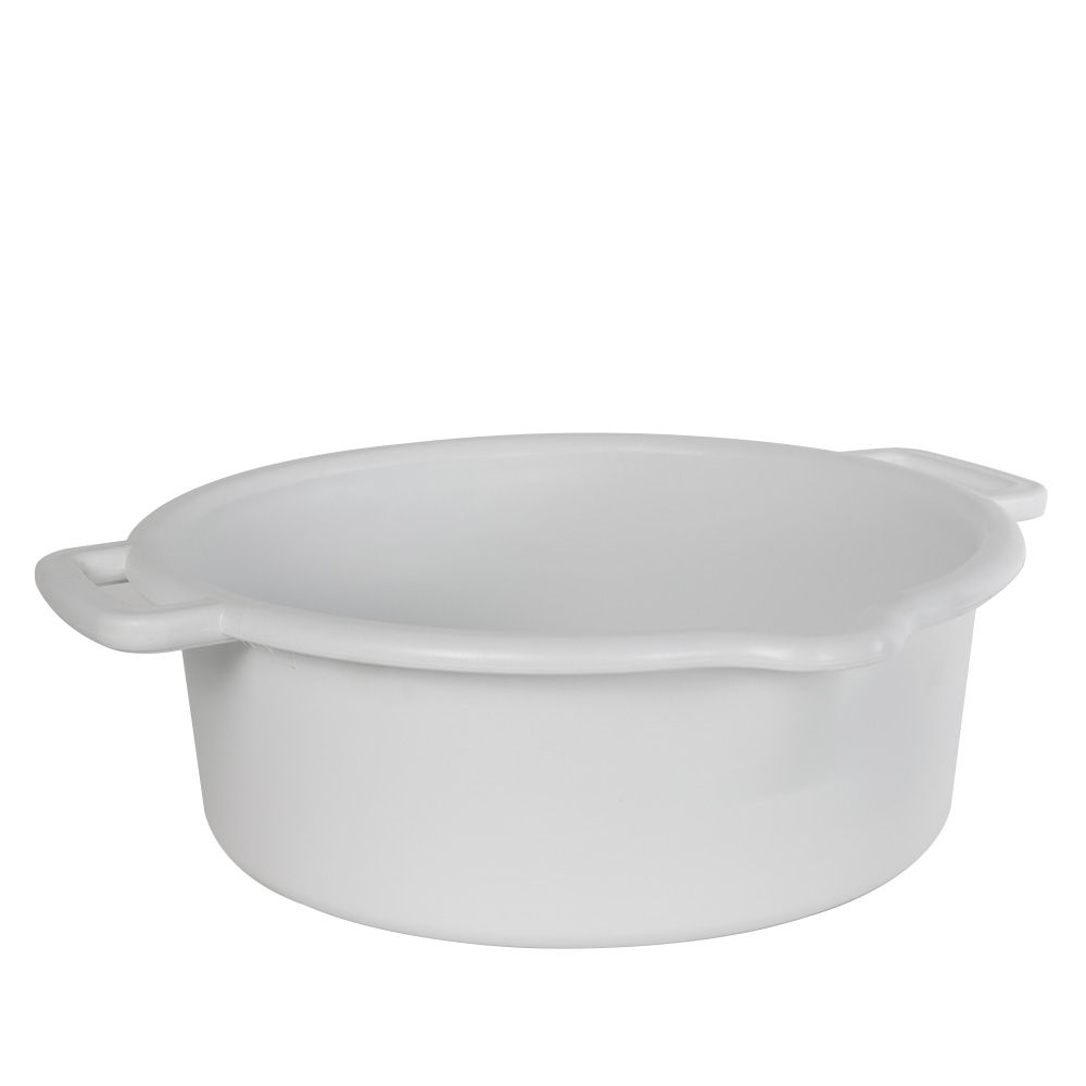 White 5 Gallon Heavy Wall Tub With Spout