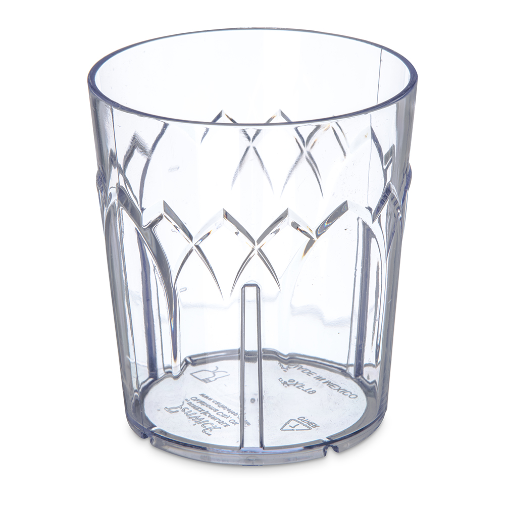9 oz. Dinex® Clear Fenwick Tumbler (Lid Sold Separately)