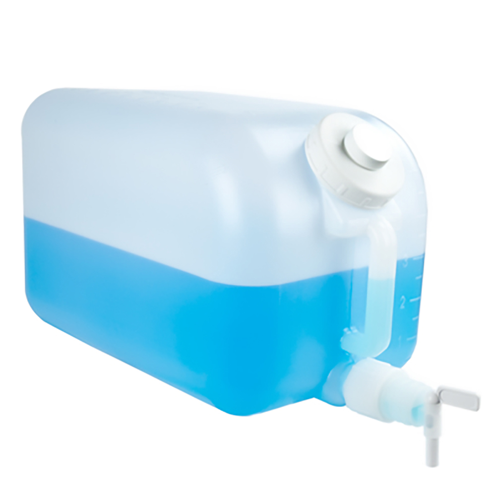 "5 Gallon HDPE Carboy with 7/16"" OD Outlet Spigot"