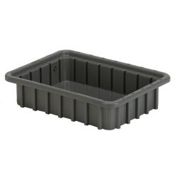 "10-7/8"" L x 8-1/4"" W x 2-1/2"" Hgt. Gray Divider Box"