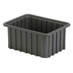 "10-7/8"" L x 8-1/4"" W x 5"" Hgt. Gray Divider Box"