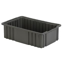 "16-1/2"" L x 10-7/8"" W x 5"" Hgt. Gray Divider Box"