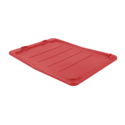 """Red Cover for 26"""" L x 18"""" W Stack-N-Nest ® Container"""