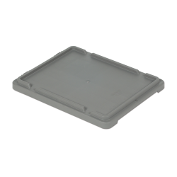 """Gray Cover for 21"""" L x 17"""" W Stack-N-Nest ® Container"""