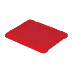 """Red Cover for 21"""" L x 17"""" W Stack-N-Nest ® Container"""