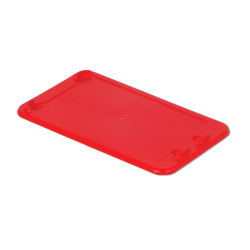 """Red Cover for 24"""" L x 14"""" W Stack-N-Nest ® Container"""