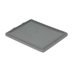 """Gray Cover for 24"""" L x 20"""" W Stack-N-Nest ® Container"""