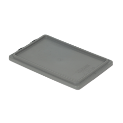 """Gray Cover for 20"""" L x 13"""" W Stack-N-Nest ® Container"""