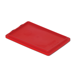 """Red Cover for 20"""" L x 13"""" W Stack-N-Nest ® Container"""