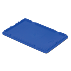 """Dark Blue Cover for 20"""" L x 12"""" W Stack-N-Nest ® Container"""