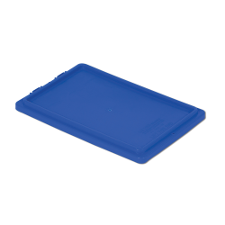 """Dark Blue Cover for 20"""" L x 13"""" W Stack-N-Nest ® Container"""