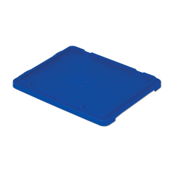 """Dark Blue Cover for 21"""" L x 17"""" W Stack-N-Nest ® Container"""