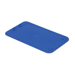 """Dark Blue Cover for 24"""" L x 14"""" W Stack-N-Nest ® Container"""