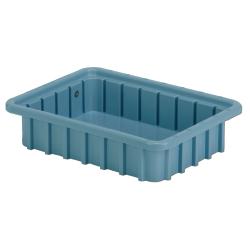 """10-7/8"""" L x 8-1/4"""" W x 2-1/2"""" Hgt. Light Blue Divider Box"""