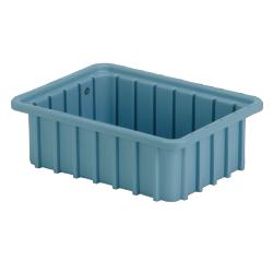 """10-7/8"""" L x 8-1/4"""" W x 3-1/2"""" Hgt. Light Blue Divider Box"""